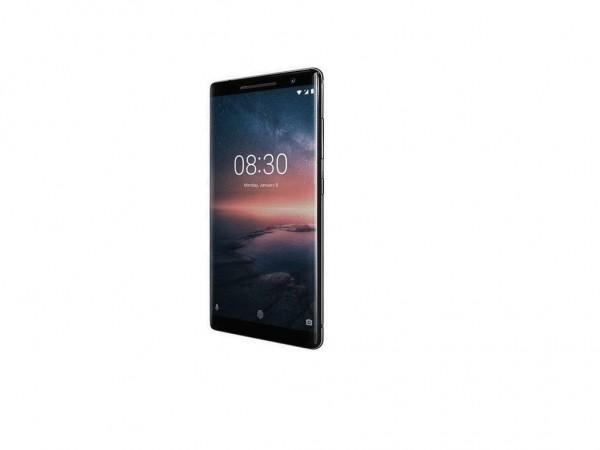 Nokia 8 Sirocco Black' ( '11A1NB01A04' )
