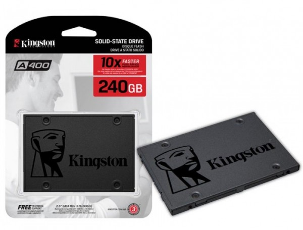 Kingston SSD A400 240GB 2.5'' SATA 3.0 SA400S37240G' ( 'SA400S37240G' )