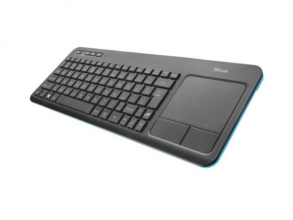 Trust Veza bežična tastatura sa touchpadom za laptop i Smart TV crna' ( '20960' )