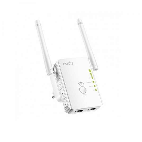 CUDY WIRELESS ROUTER RE300 N300MB/S 3IN1 EXTENDER/AP (GAMA)