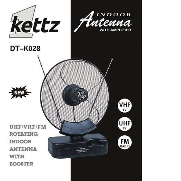 KETTZ SOBNA TV/FM ANTENA DT K028 POJACIVAC (VTP)