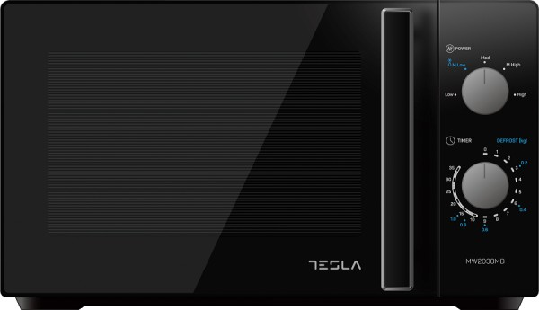 Tesla mikrotalasna rerna MW2030MB,20l,gril,crna,mehanicke komande' ( 'MW2030MB' )