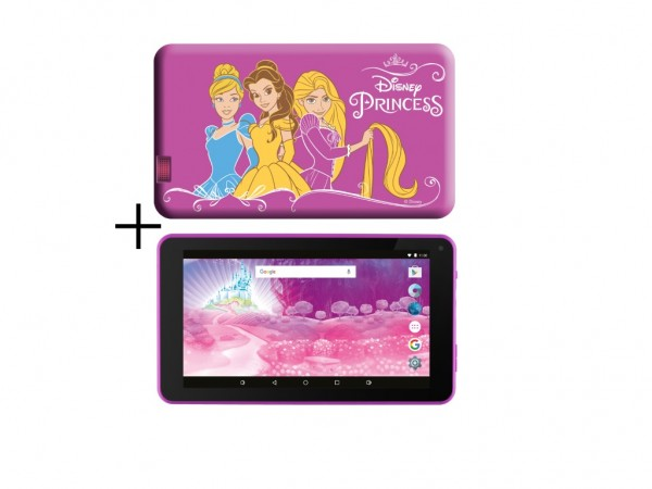 eSTAR Themed Tablet Princess 7'' ARM A7 QC 1.2GHz1GB8GB0.3MPWiFiAndroid 7.PinkPrincess Futrola' ( 'ES-TH2-PRINCESS-7.1' )