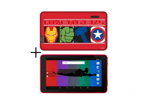 eSTAR Themed Tablet Avengers 7'' ARM A7 QC 1.3GHz1GB8GB0.3MPWiFiAndroid 7.1Avengers Futrola' ( 'ES-TH2-AVENGERS-7.1' )