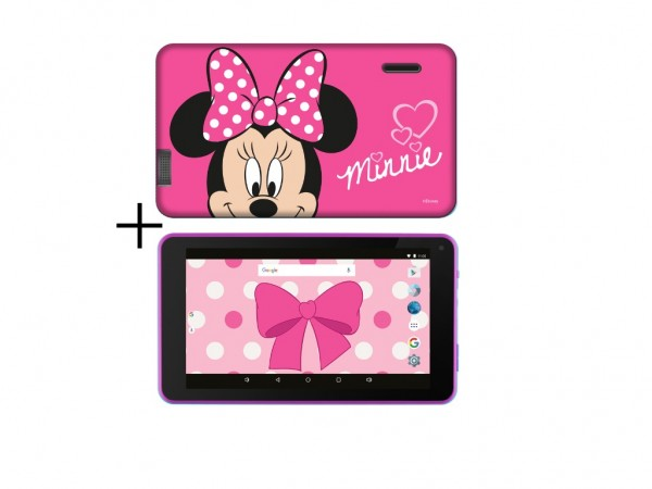 eSTAR Themed Tablet Minnie Mouse 7'' ARM A7 QC 1.3GHz1GB8GB0.3MPWiFiAndroid 7.1Minnie M.Futrola' ( 'ES-TH2-MINI-7.1' )