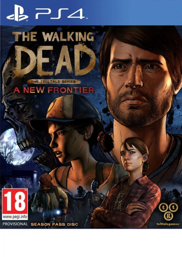 PS4 The Walking Dead - A New Frontier