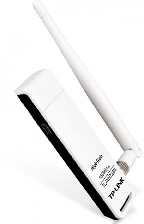 TP-LINK WIRELESS USB ADAPTER TL-WN722N