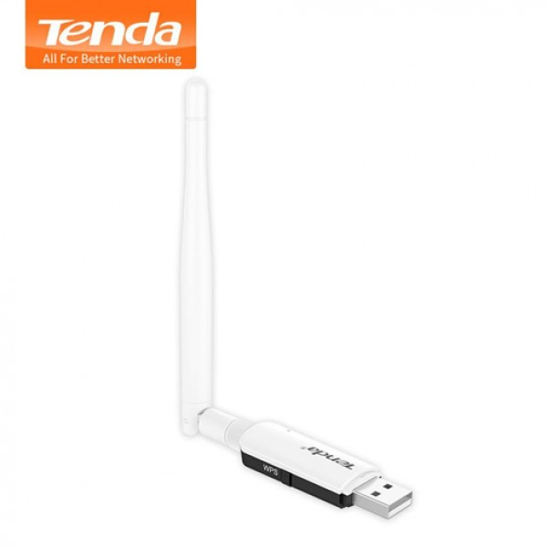 TENDA USB WIRELESS CARD U1 300MB/S ANTENA