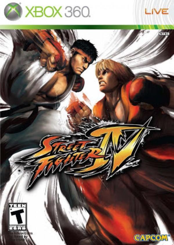XBOX360 Street Fighter IV ( XB360-0132 )