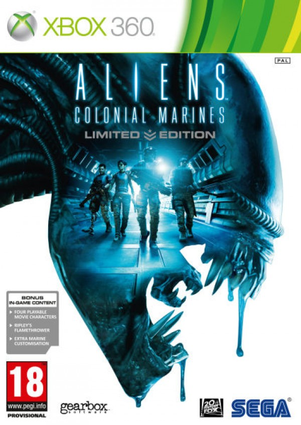 XBOX360 Aliens Colonial Marines-Limited Edition