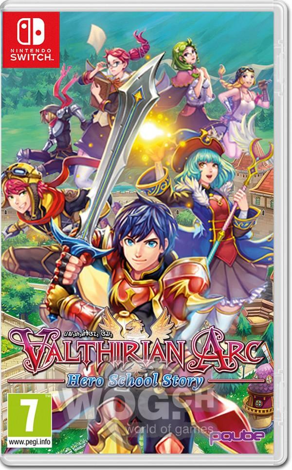 Switch Valthirian Arc: Hero School Story