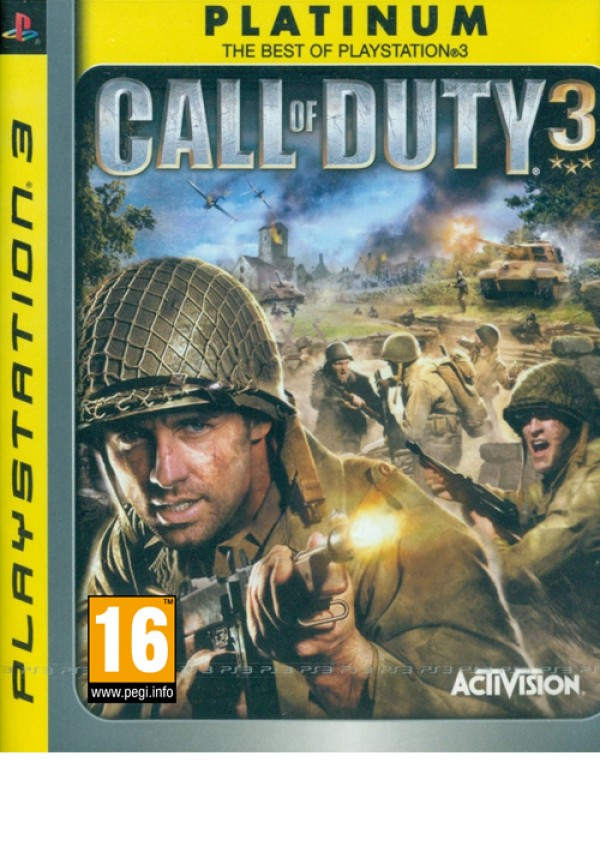 PS3 Call of Duty 3 Platinum ( 82247UK )