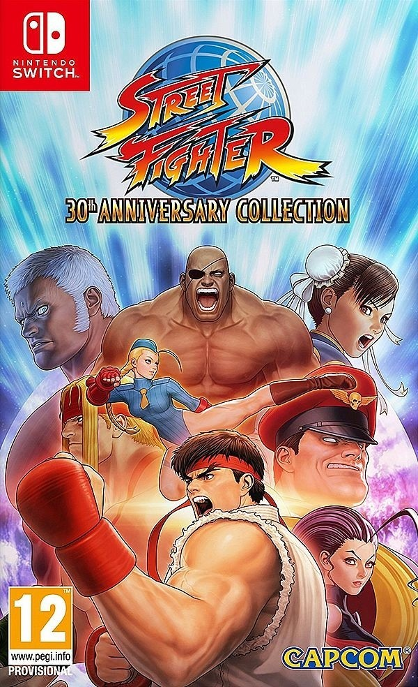 Switch Street Fighter - 30th Anniversary Collection