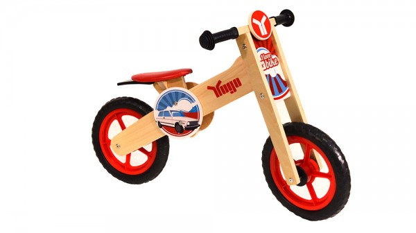 Yugo Wooden Balance Bike Red ( AT10132-4 )