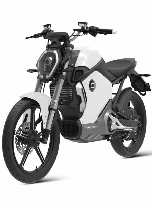 Super Soco TS1200R Electric Motorcycle White ( TS1200R )