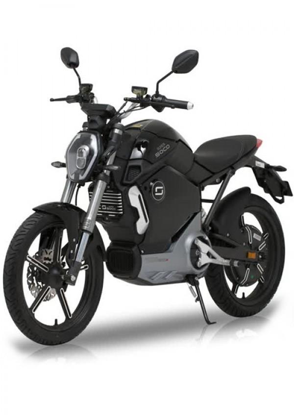 Super Soco TS1200R Electric Motorcycle Black ( TS1200R )