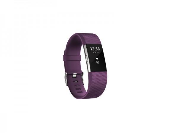 Fitbit Charge 2 Plum L' ( 'FB407SPML-EU' )
