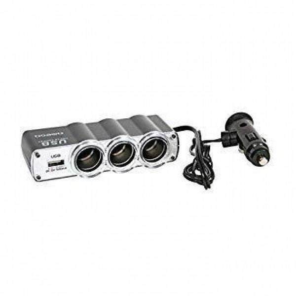 OMEGA PUNJAC OUC911 3*12V+USB (ODC)