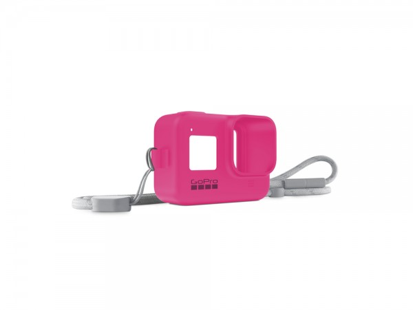 Sleeve + Lanyard (HERO8 Black) Electric Pink' ( 'AJSST-007' )