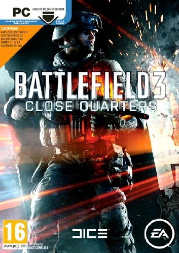 PC Battlefield 3 Close Quarters Key