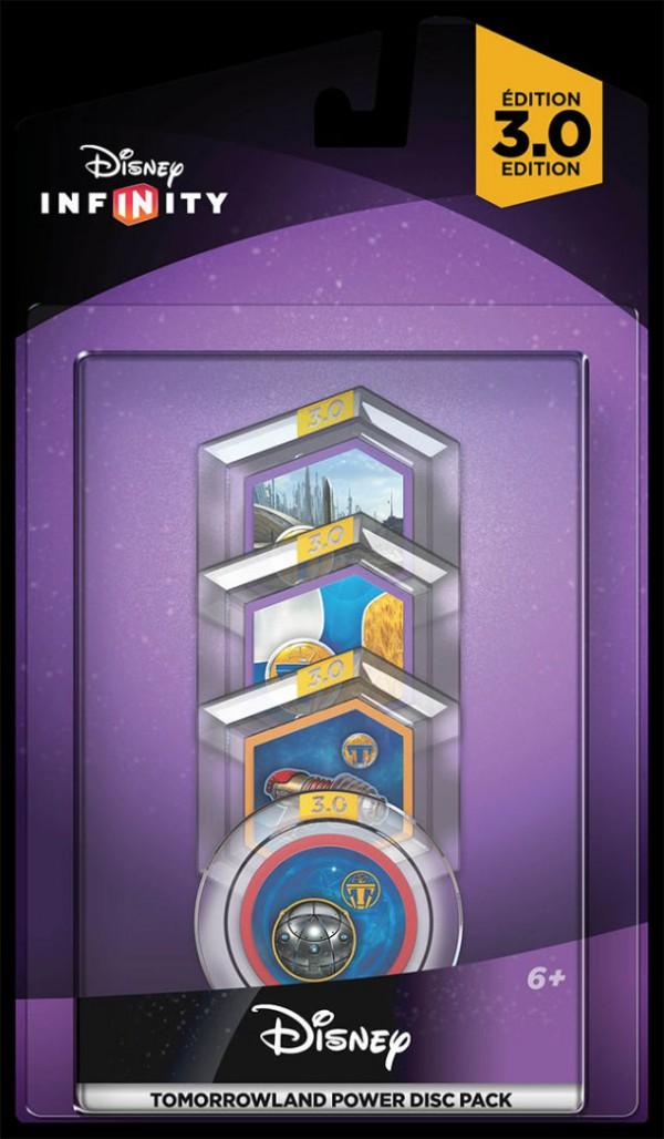 Infinity 3.0 Power Discs Disney Tomorrowland (Disney) ( IQAU000031 )