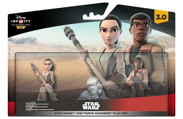 Infinity 3.0 Playset Star Wars - The Force Awakens (Rey, Finn and Playset piece) ( IQAY000013 )