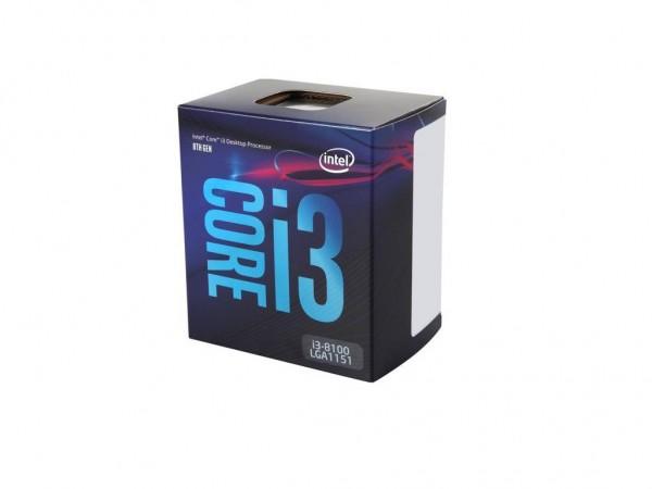 CPU Core i3 8100, 3.6GHz, BOX sa hladnjakom' ( 'I38100' )