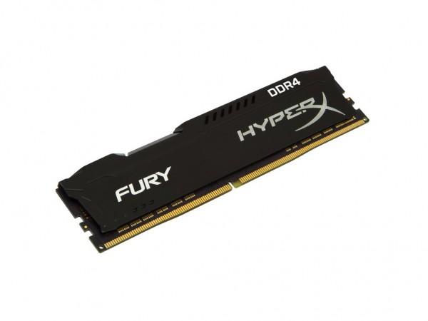 Kingston DIMM DDR4 8GB 2666MHz HX426C16FB28 HyperX FURY Black' ( 'HX426C16FB28' )