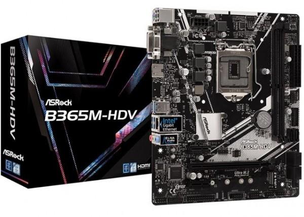 MBO ASRock 1151_v2 B365M-HDV