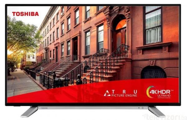 Toshiba 55UL2A63DG LED TV 55'', Ultra HD, SMART, DVB-T2CS2, blacksilver, Onkyo sound, Two pole std' ( '55UL2A63DG' )