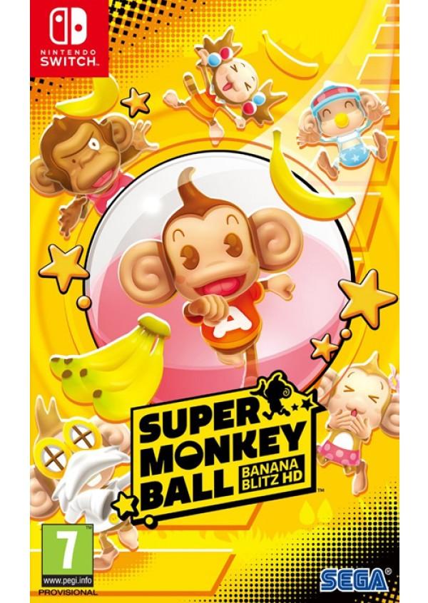 Switch Super Monkey Ball Banana Blitz HD