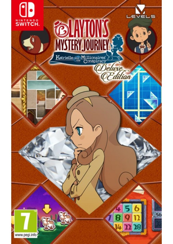 Switch Layton's Mystery Journey: Katrielle and the Millionaires' Conspiracy