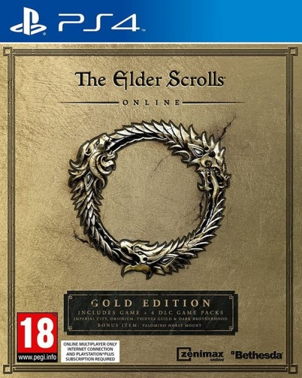 PS4 The Elder Scrolls Online Gold Edition