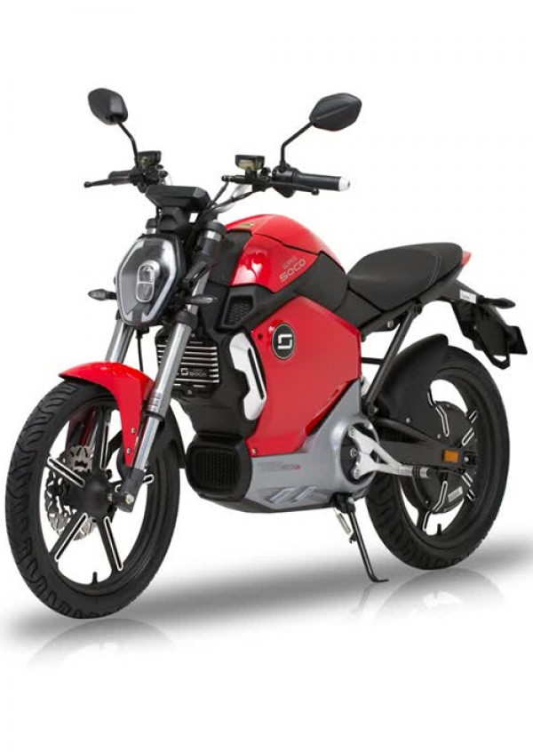 Super Soco TS1200R Electric Motorcycle Red ( TS1200R )