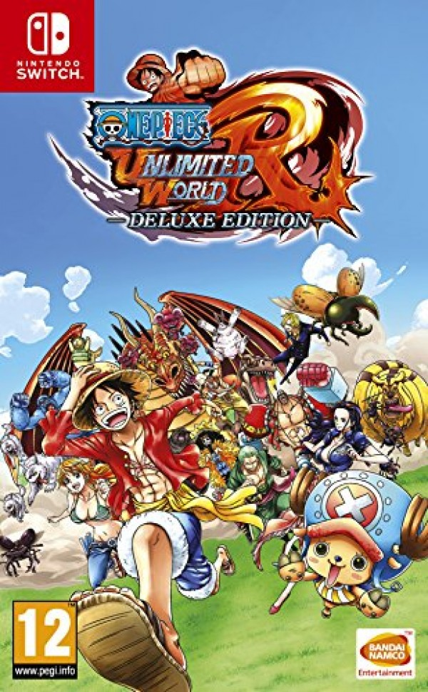 Switch One Piece Unlimited World Red - Deluxe Edition ( 112646 )