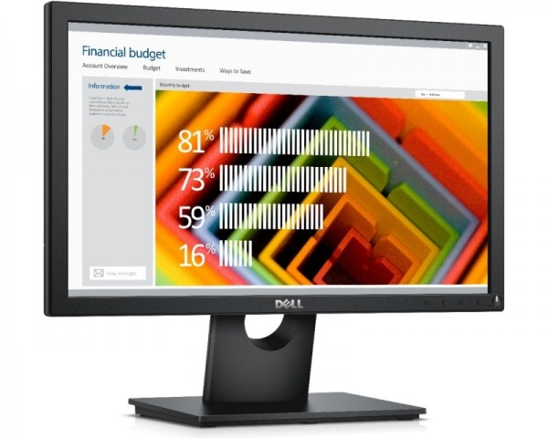 DELL 18.5'' E1916H LED monitor