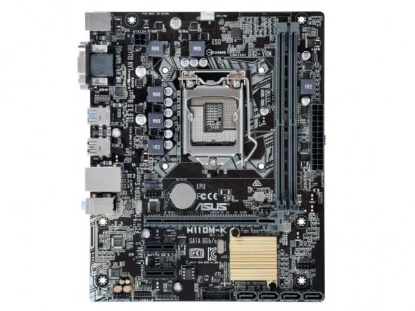 Asus Intel MB H110M-K 1151' ( 'H110M-K' )