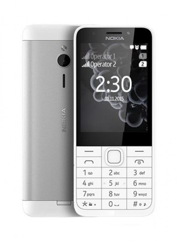 Nokia 230 DS Silver