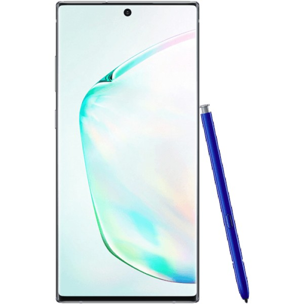 Samsung Galaxy Note 10+ Srebrna DS,  12-256GB, 6.8'', 16.0 Mpix + 12.0Mpix + 12.0 Mpix