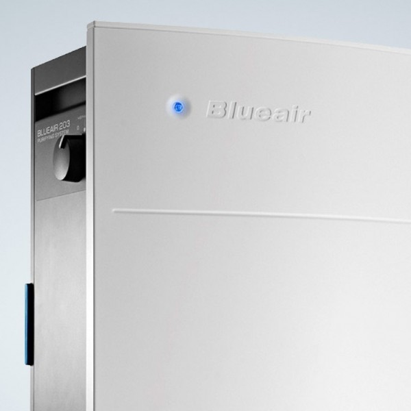 Blueair 203 Slim 230VAC with smokestop filter Color White' ( '203SK230SMW' )