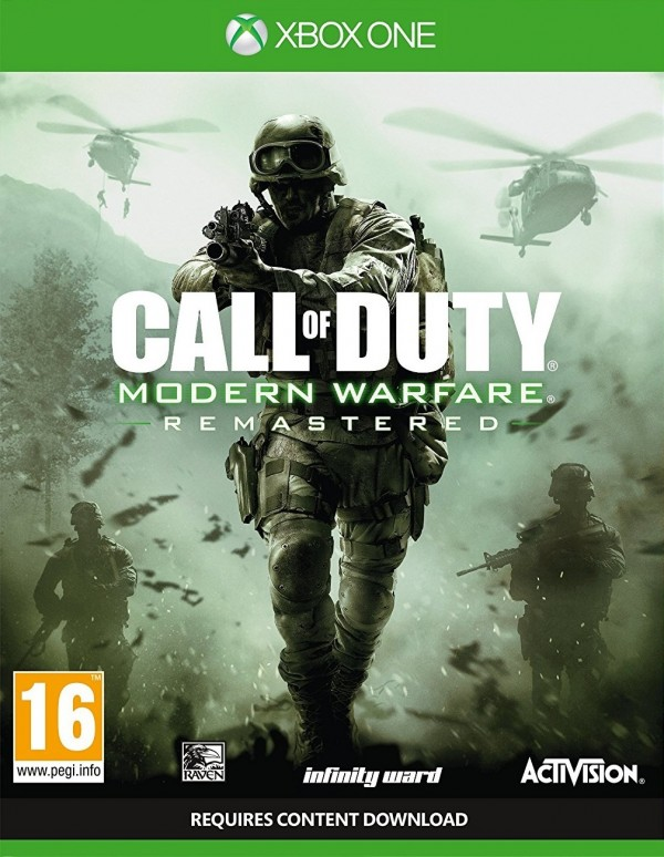 XBOXONE Call of Duty Modern Warfare Remastered ( 88075EN )