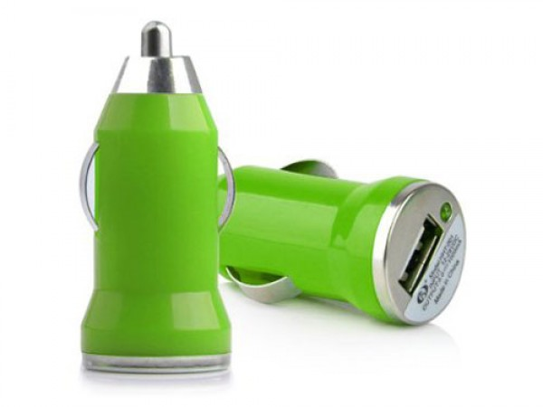 Auto punja USB 1A E-11 zeleni (VTP)