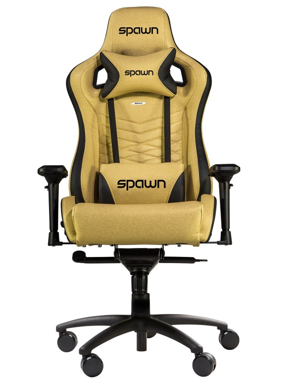 Gaming Chair Spawn Special Edition Gold ( FL-GDBXL )