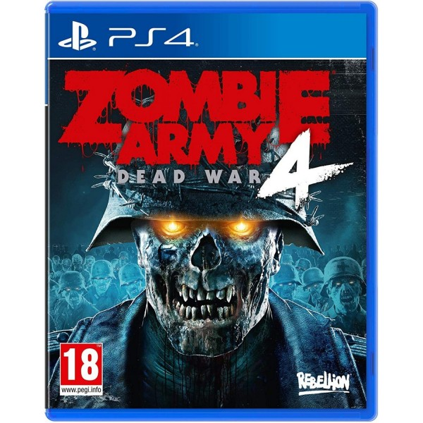 PS4 Zombie Army 4 Dead War Collector's Edition
