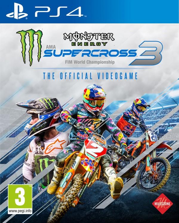 PS4 Monster Energy Supercross - The Official Videogame 3 ( E03660 )