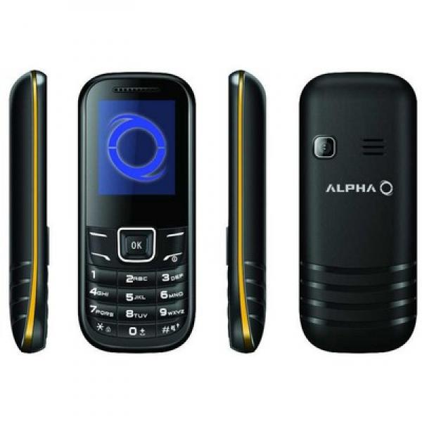 ALPHA MOBILNI TELEFON D1 ZUTA DS (ROA)