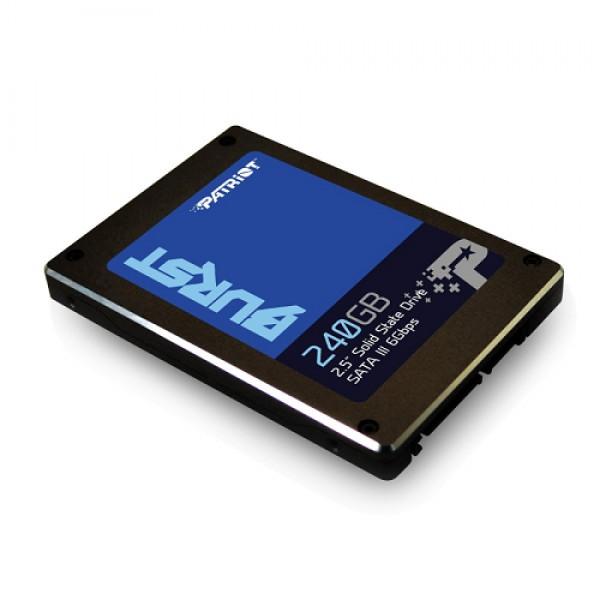 PATRIOT BURST SSD 2.5 SATA3 6GB/S 240GB 555MBS/500MBS PBU240GS25SSDR
