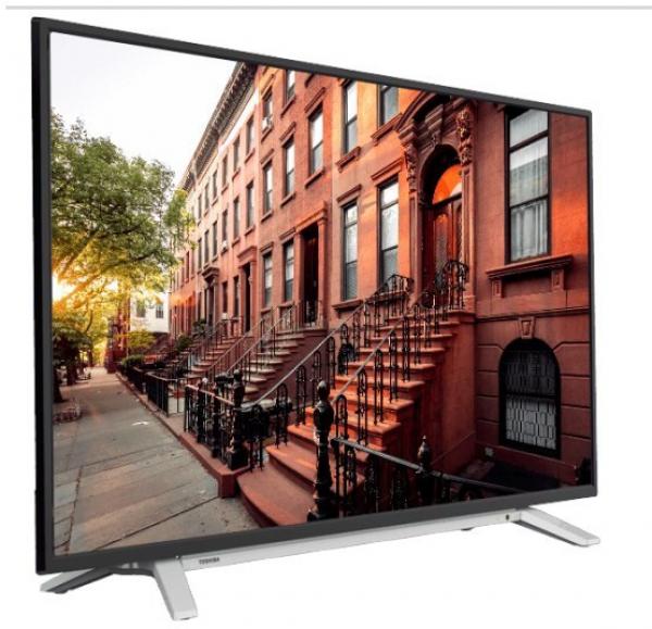 Toshiba 43UL2A63DG LED TV 43, Ultra HD, SMART, DVB-T2/C/S2, black/silver, Onkyo sound, Two pole std