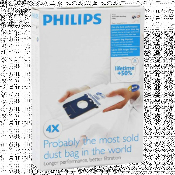 PHILIPS S-bag FC8021-03 Kesa, Bela