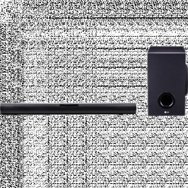 LG Soundbar zvučnici SJ2 160W, 2.1, Crna